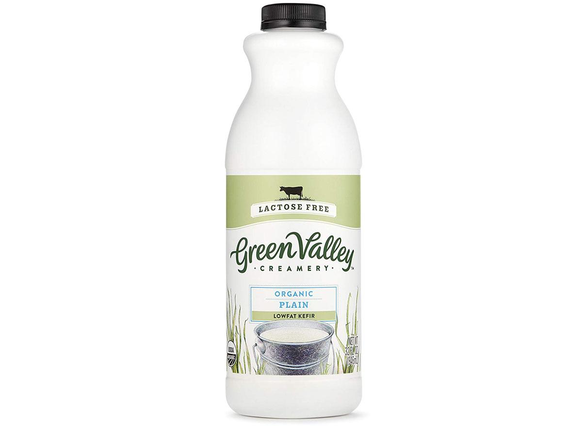 Green valley creamery lactose free organic plain kefir
