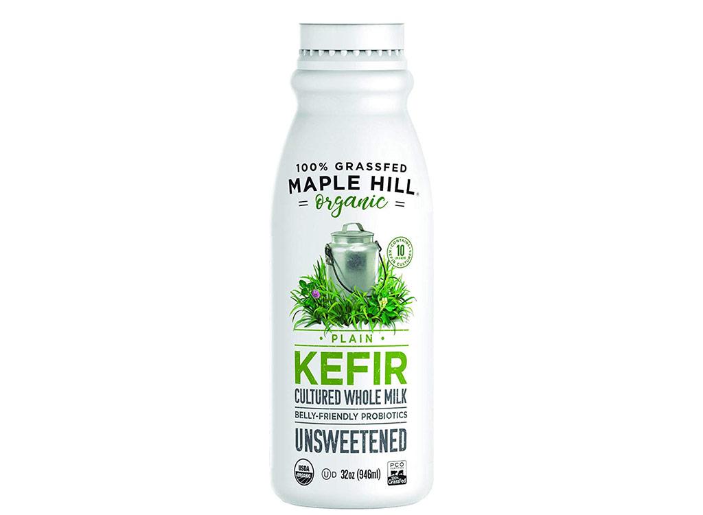 Maple hill organic kefir plain whole milk