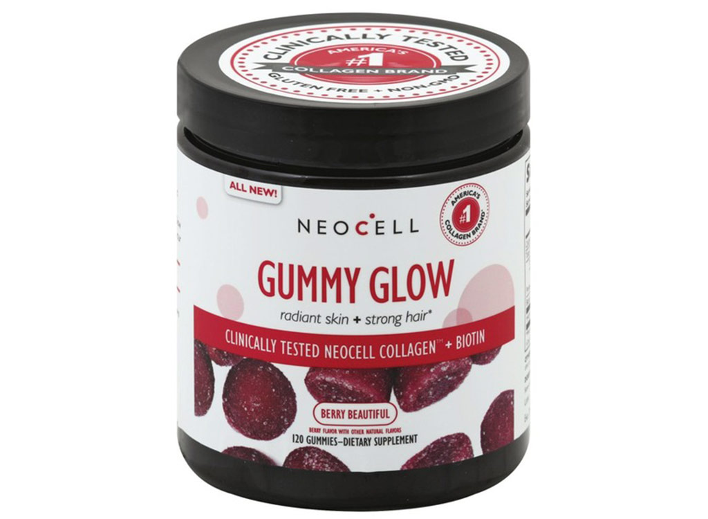 Neocell gummy glow radiant skin collagen