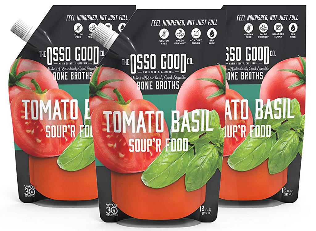 The osso good tomato basil soup'r food bone broth
