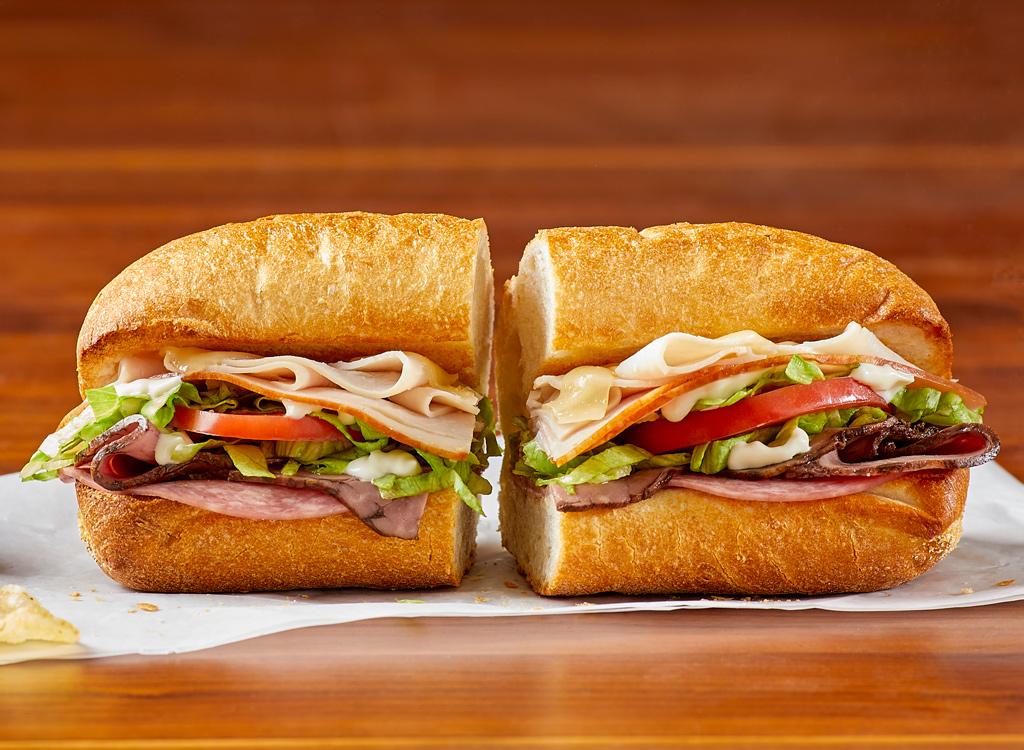 Potbelly wreck sandwich
