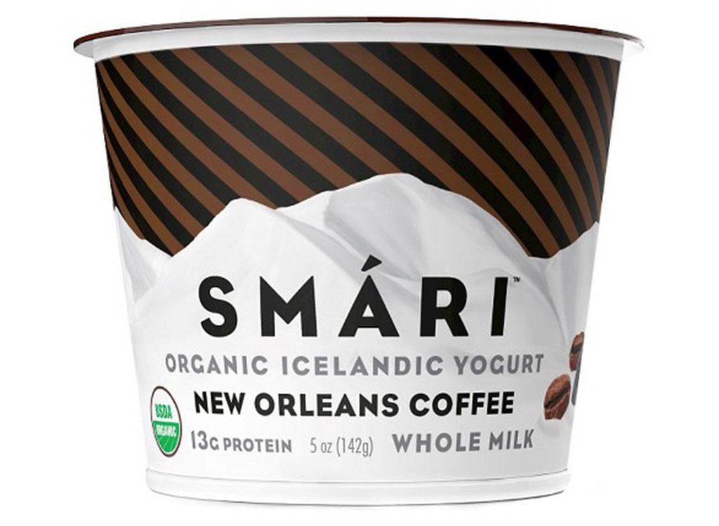 Smari new orleans coffee whole milk icelandic yogurt