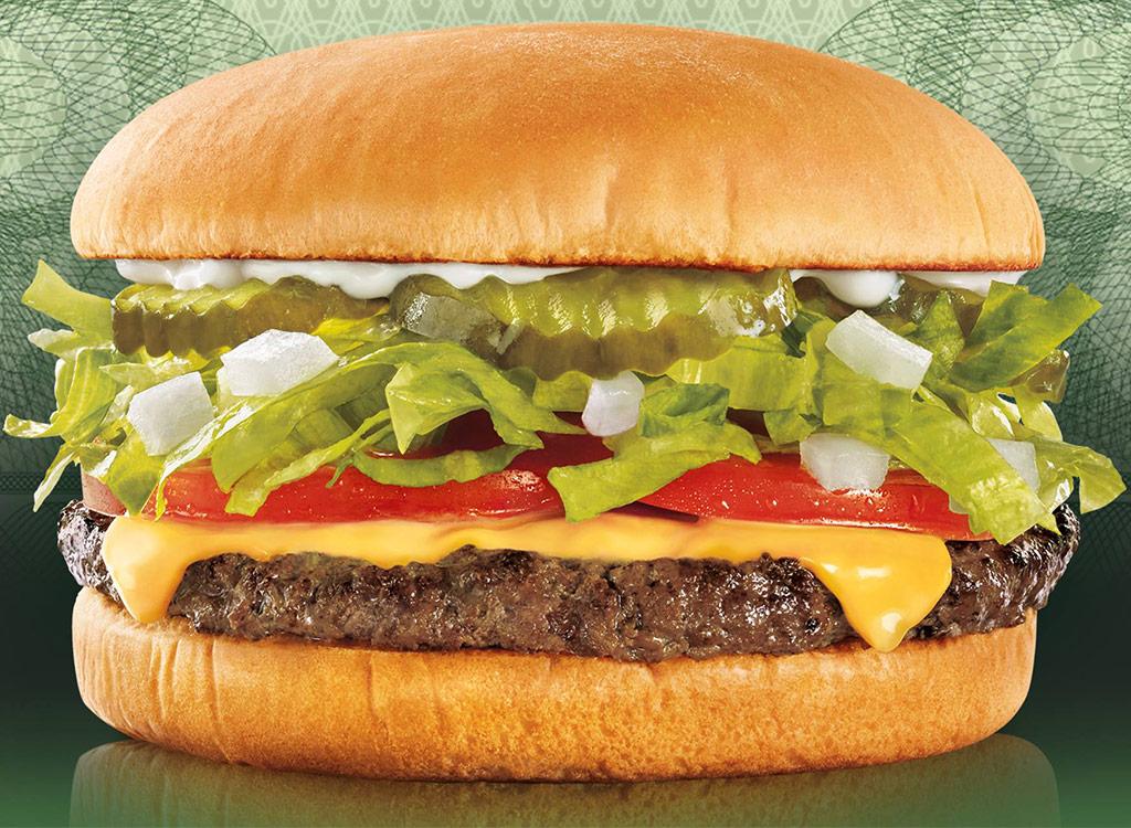 Sonic jr deluxe burger