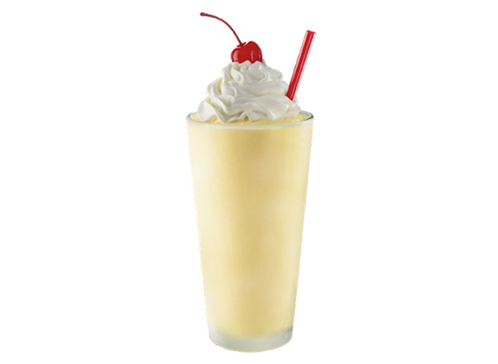 Sonic fresh banana shake