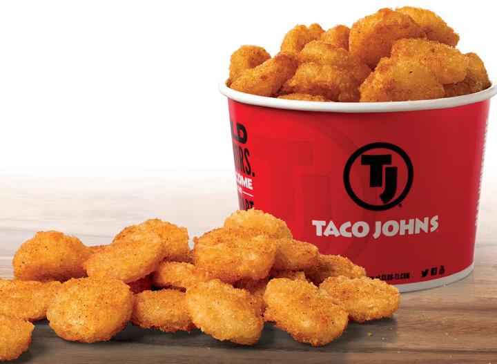 Taco John potato oles