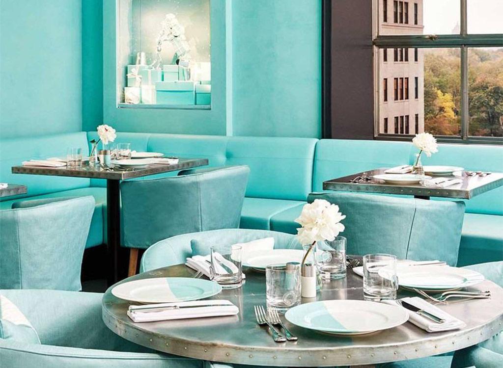 Tiffany and co blue box cafe