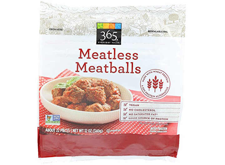 Whole foods 365 meatless meatballs
