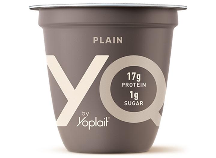 YQ by yoplait plain yogurt low carb keto snack