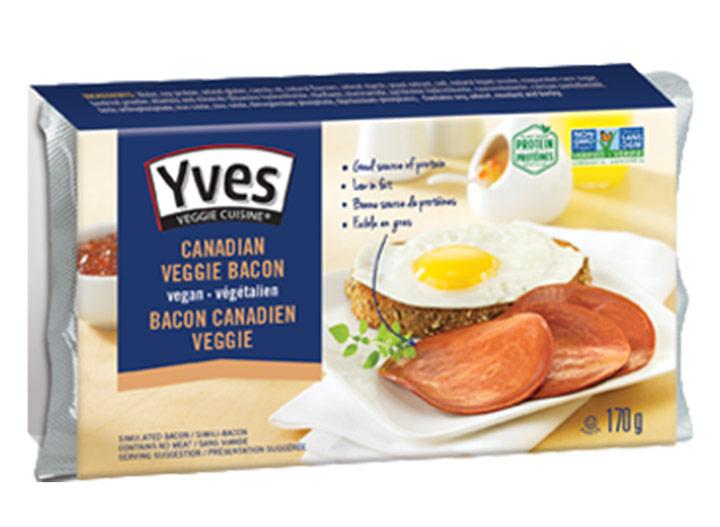 Yves veggie canadian bacon