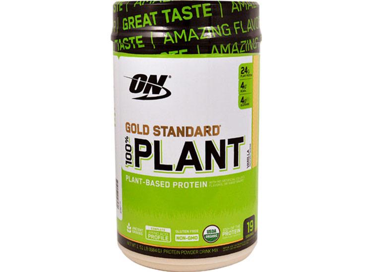 Optimum nutrition gold standard plant protein powder