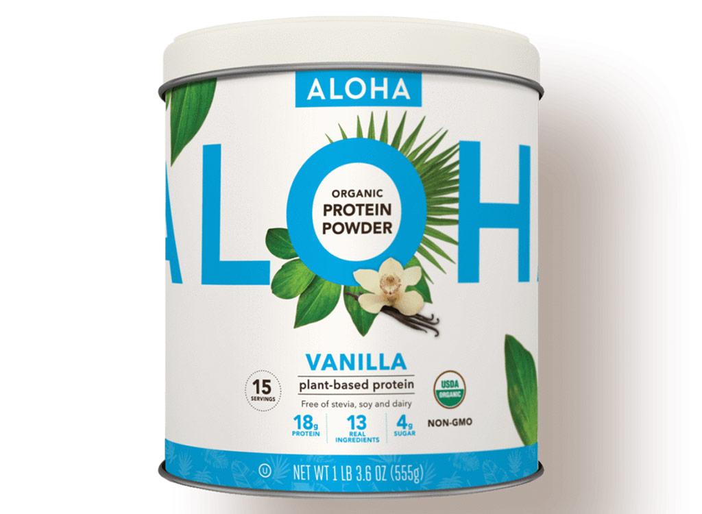 Aloha plant based protein powder