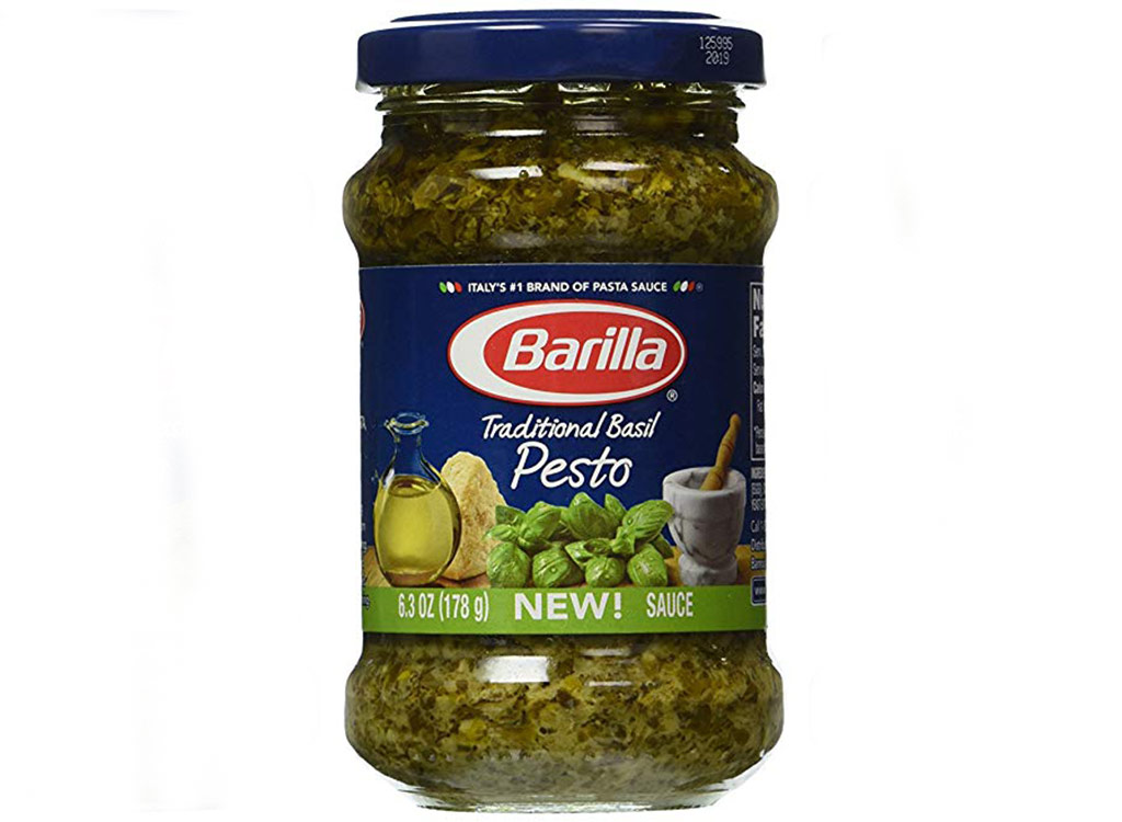 Barilla traditional basil pesto