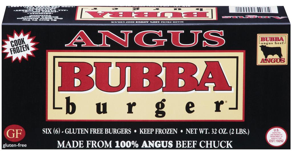 Angus bubba burger