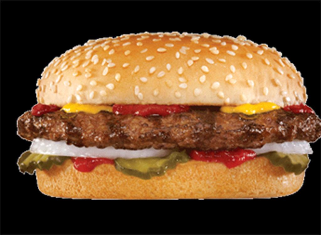 Carl's jr. big hamburger