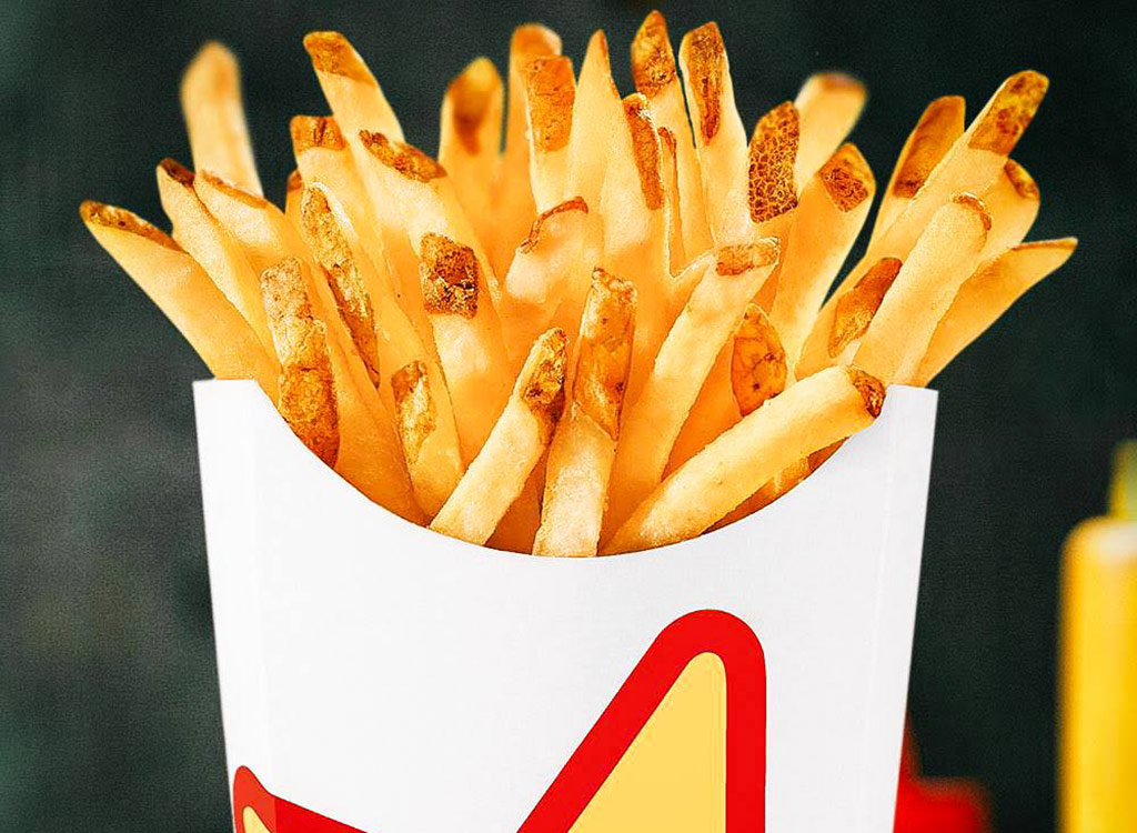 Carl's jr. french fries