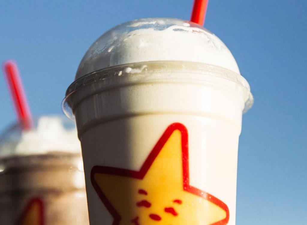 Carl's jr. milkshakes