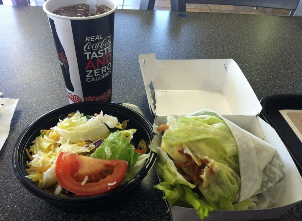 Carl's jr. side salad