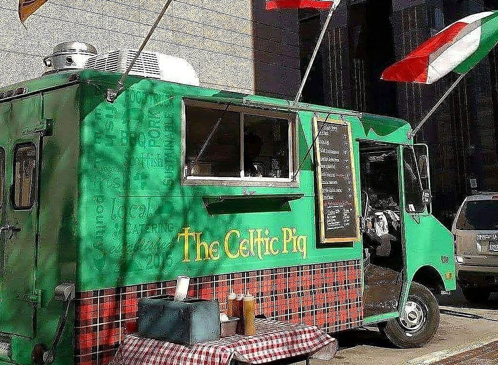 Celtic pig food truck
