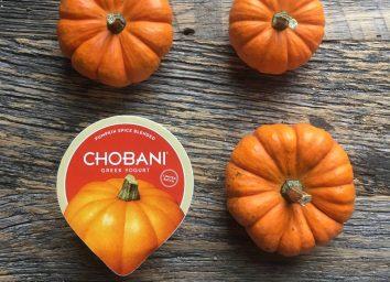 Chobani pumpkin spice