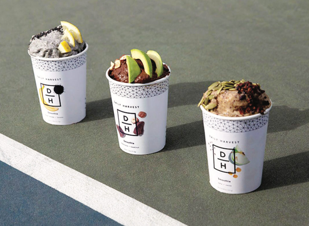 Daily harvest's protein smoothies