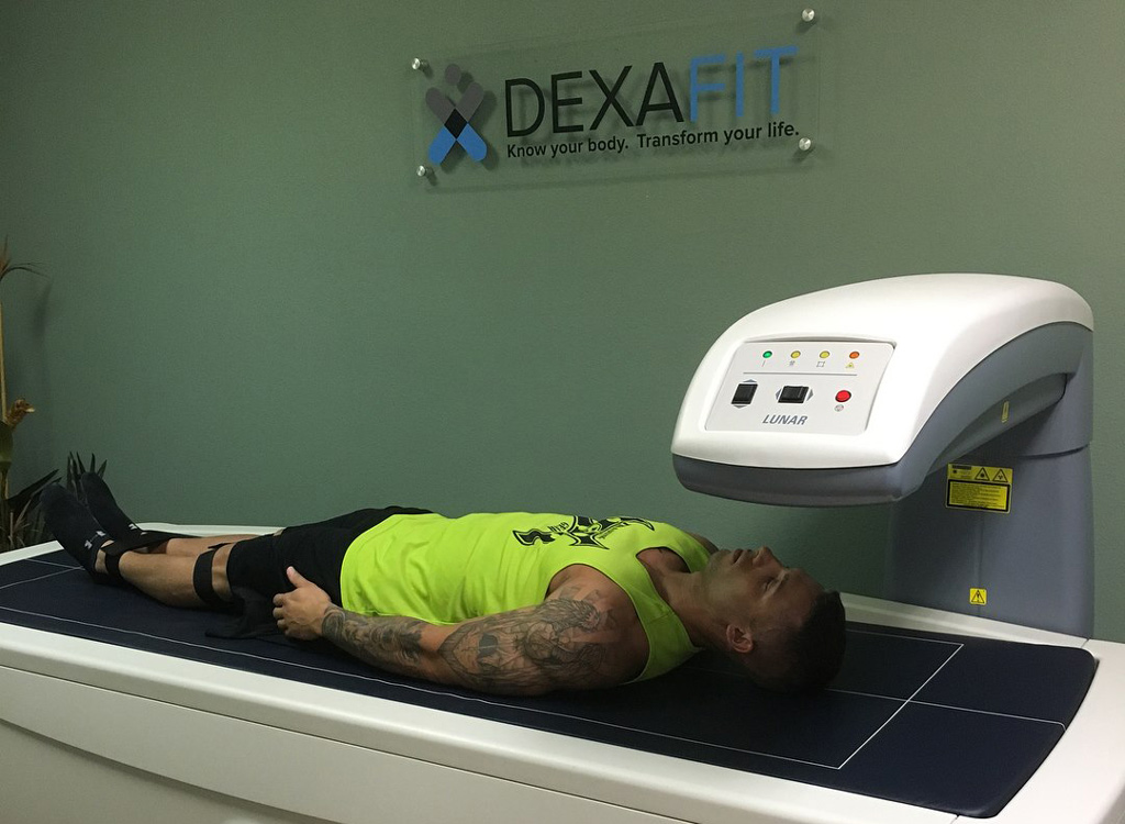 DexaFit body scan