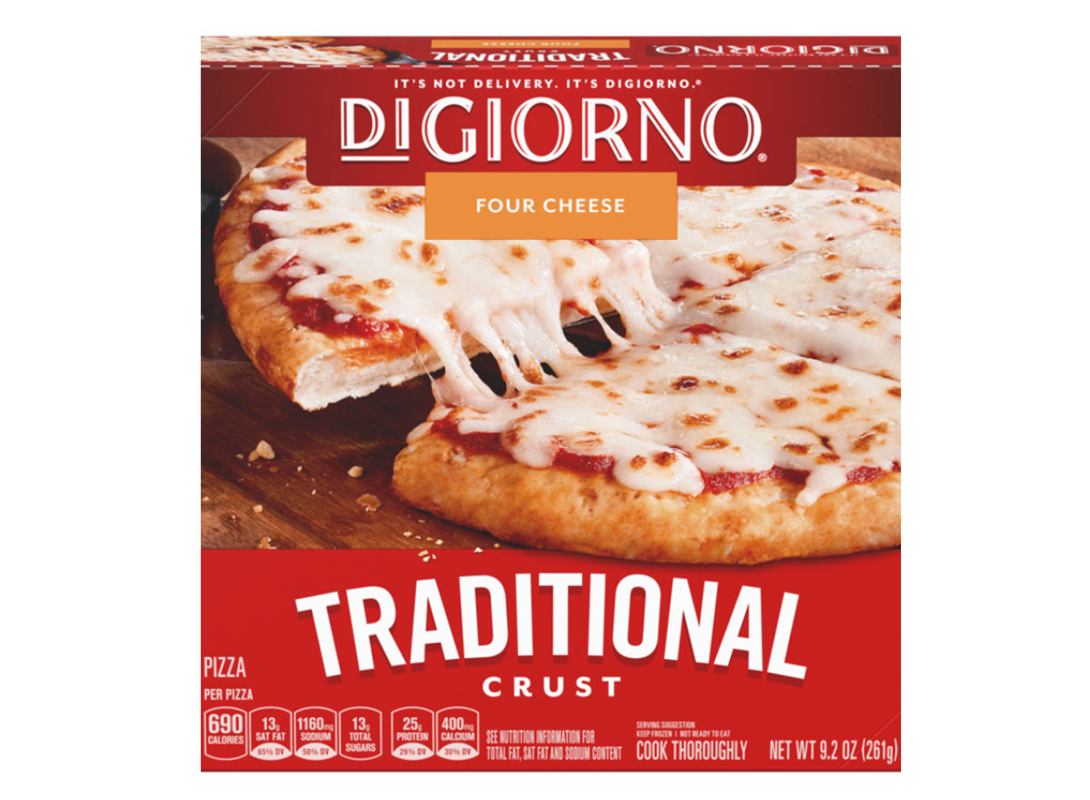 digiorno small size traditional cheese pizza