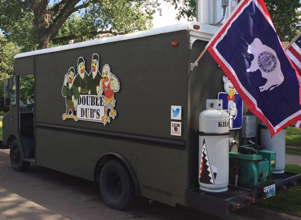 Double dub's food truck