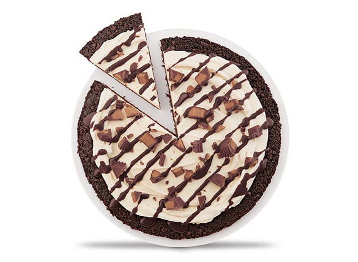 DQ Reese's Peanut Butter Cup Treatzza Pizza