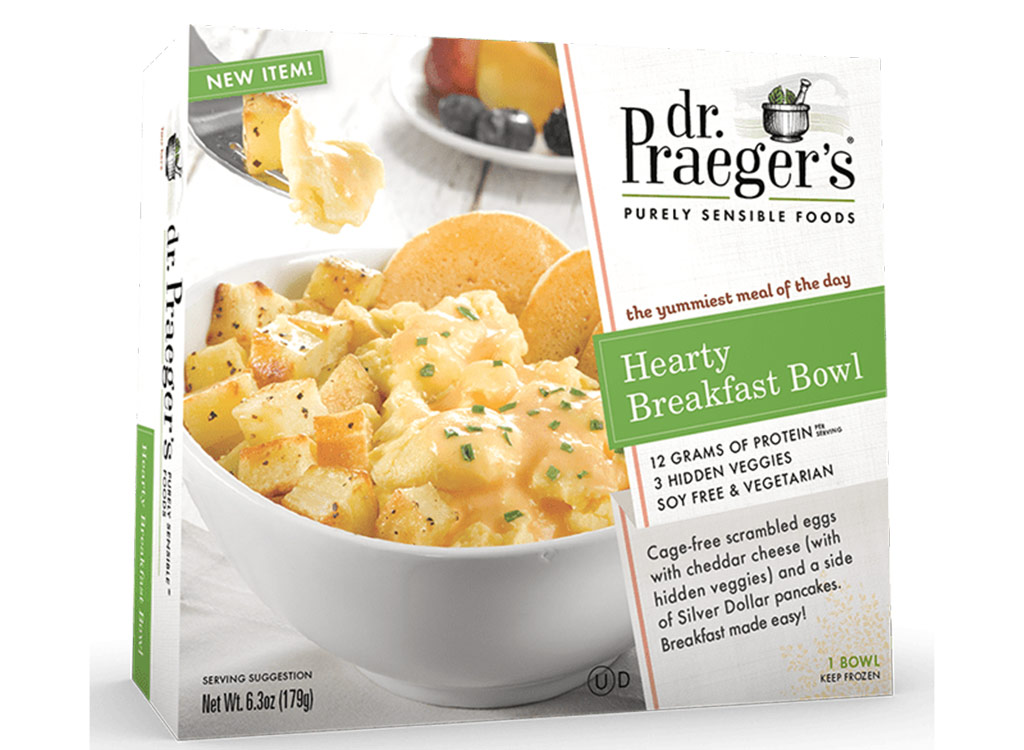 Dr. praeger's hearty breakfast bowl