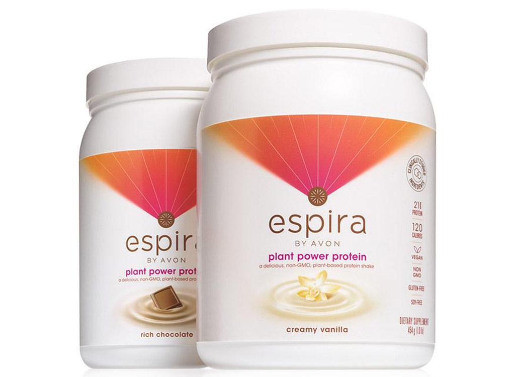 Espira by avon plant protein powder