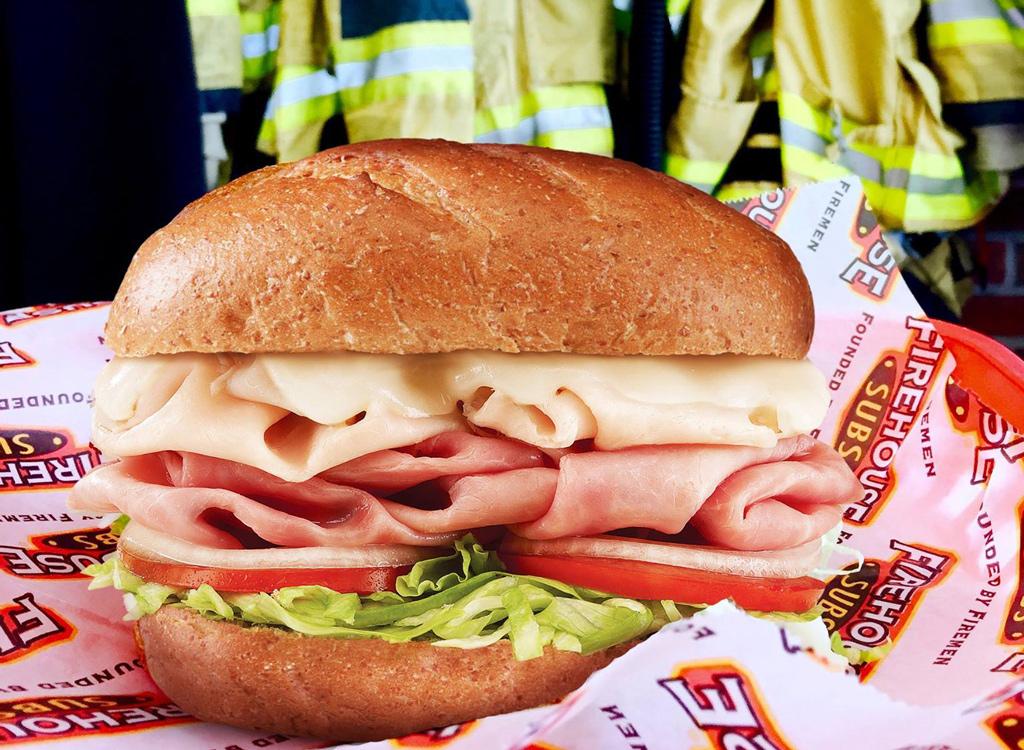 Firehouse subs sandwich