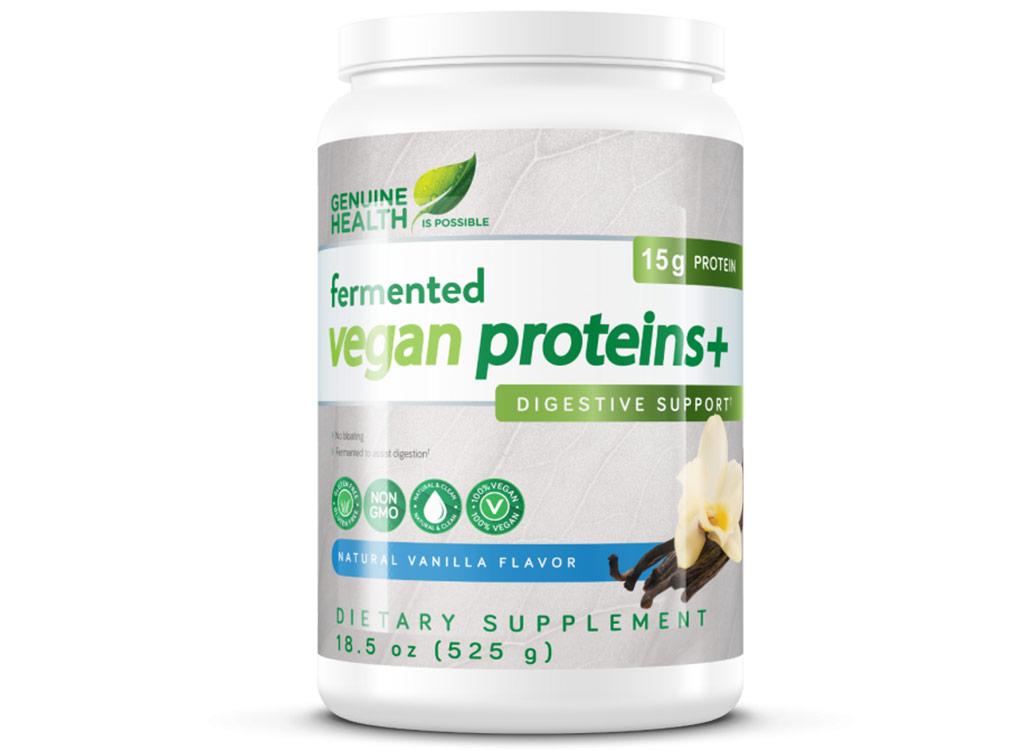 Genuine health fermented vegan protein