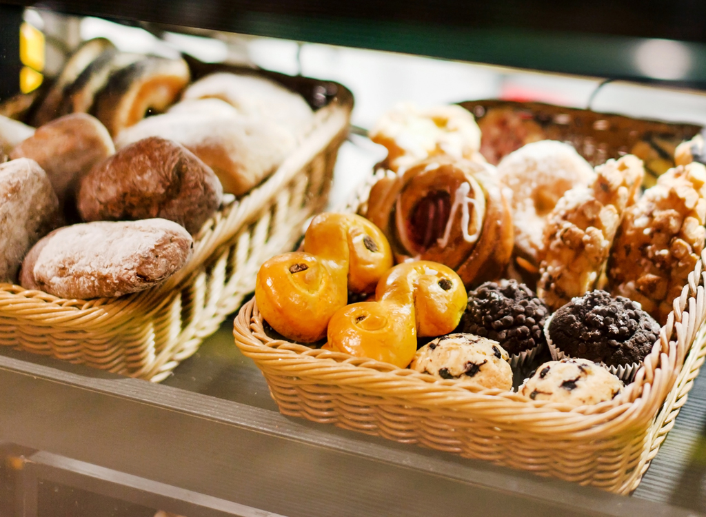 Grocery store pastries