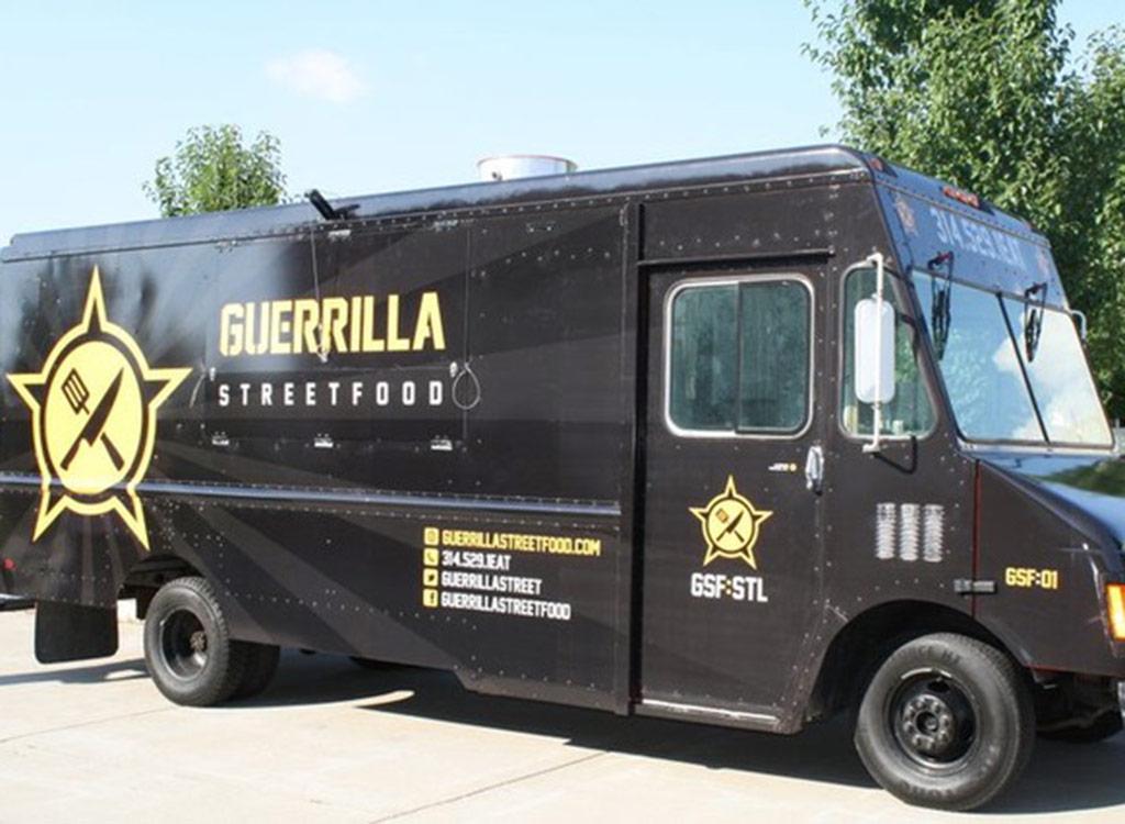 Guerilla street food truck