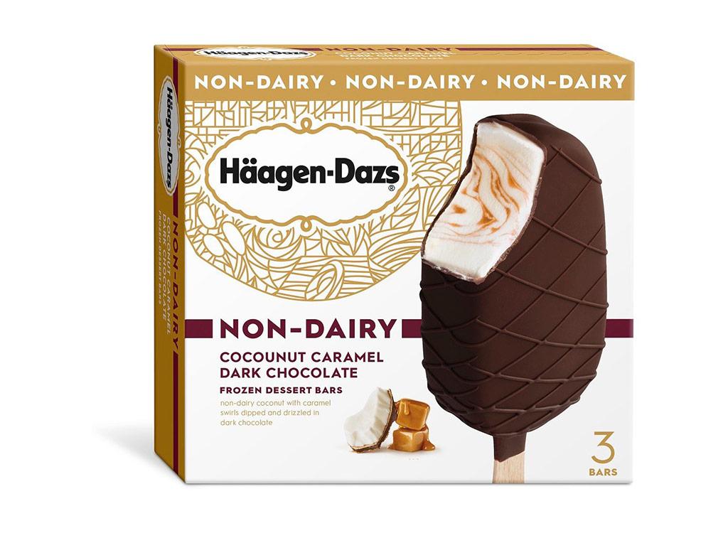 Haagen daz nondairy coconut caramel bars