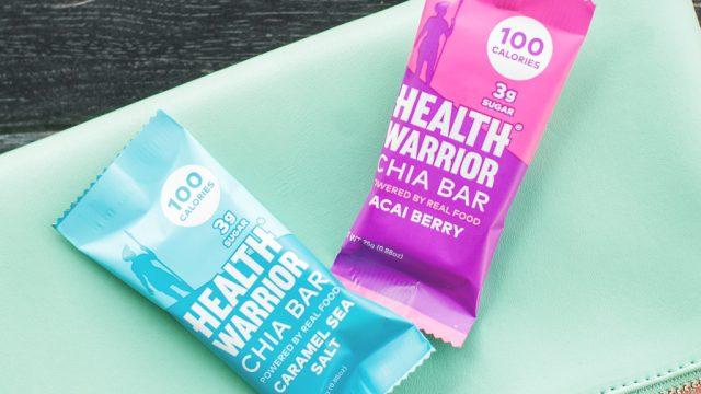 Health warrior 100 calorie bar