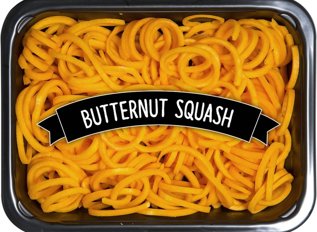 Healthier way butternut squash noodles