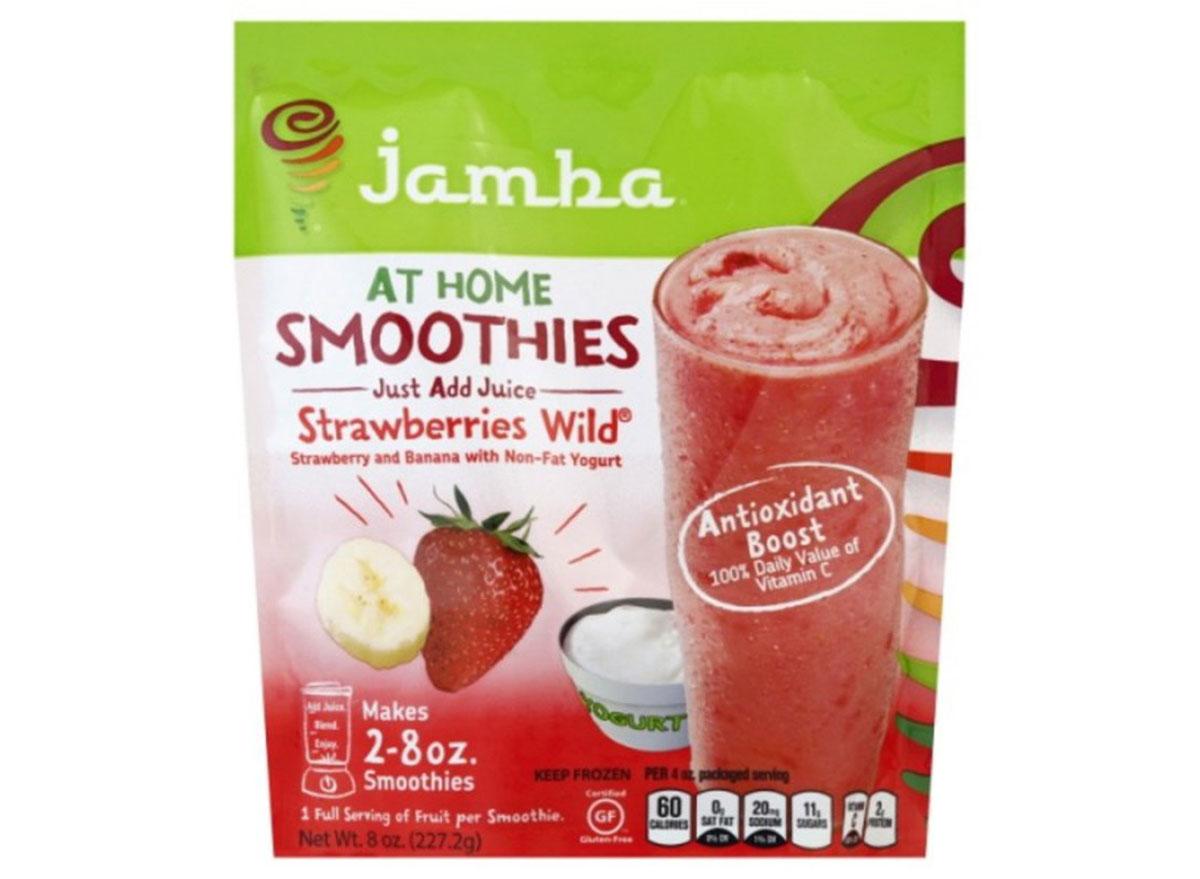 jamba at home strawberries wild smoothie mix frozen