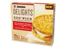 Jimmy dean delights eggwiches
