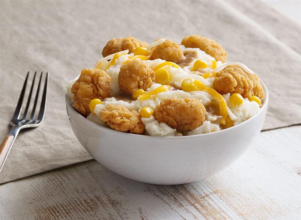KFC famous bowl snack size