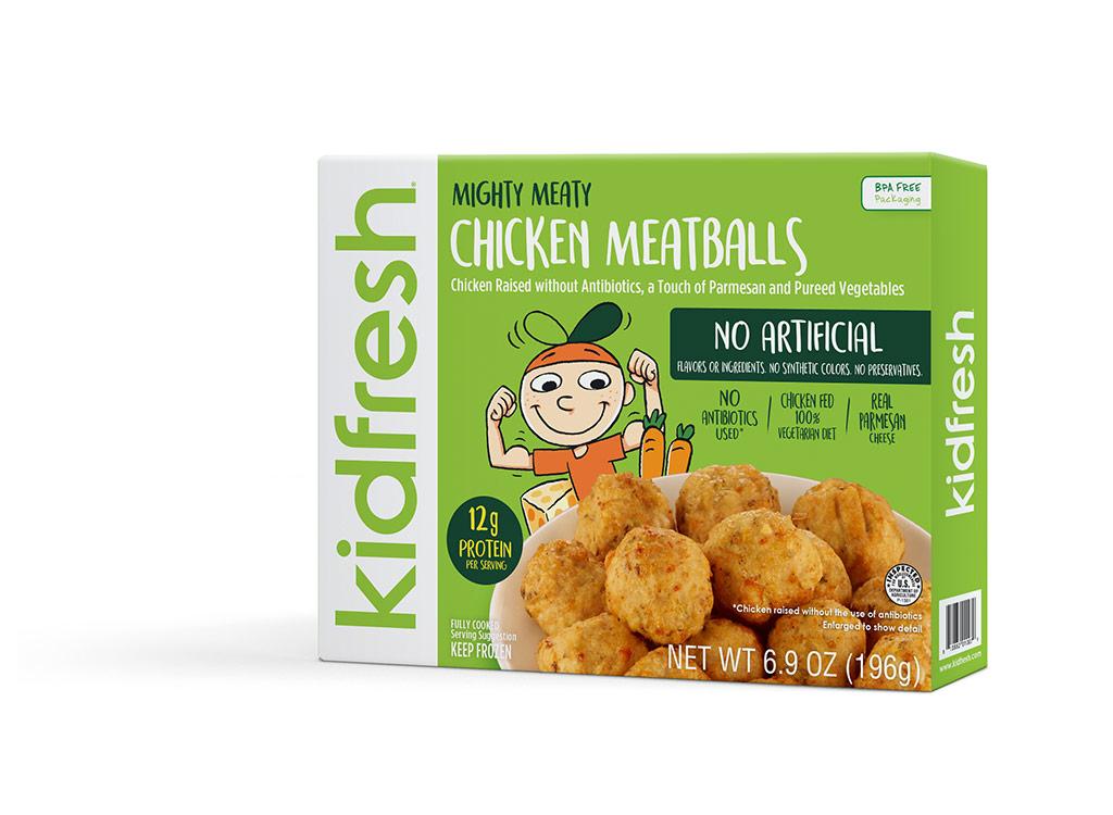 Kidfresh chicken meatballs