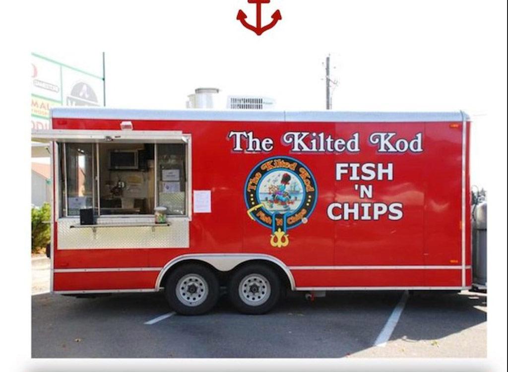 Kilted kod food truck