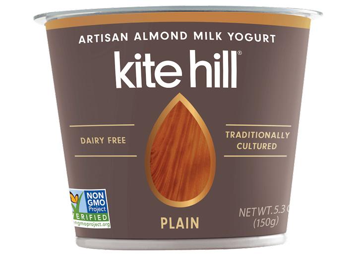 Kite Hill dairy free almond yogurt