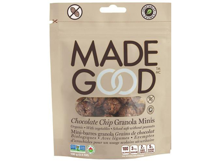 Made Good mini chocolate granola