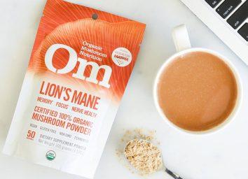 Om nutrition lion's mane adaptogen