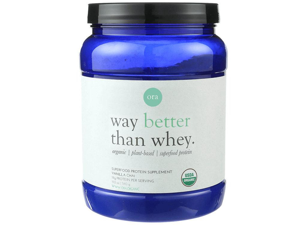 ora superfood protein powder