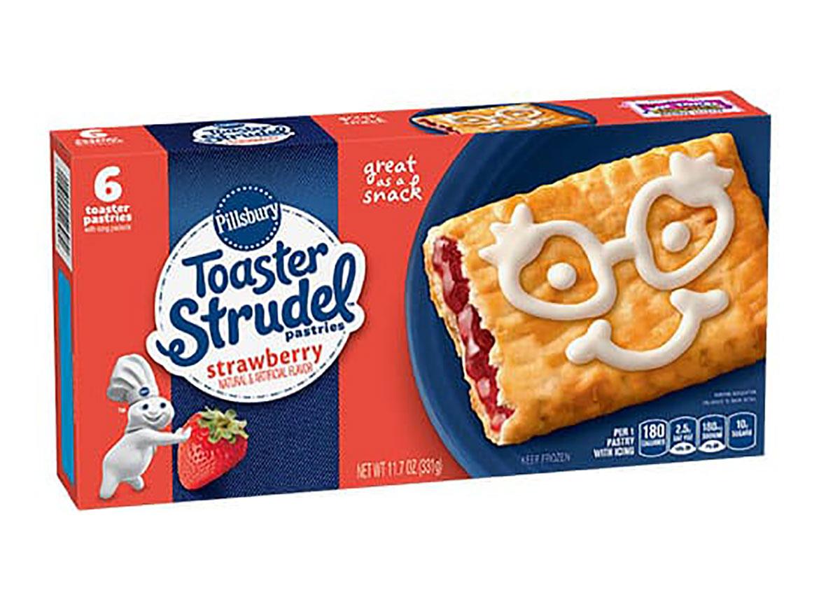 pillsbury strawberry toaster strudel