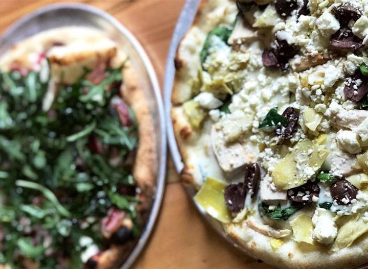 Pizza carrello the dazzle berry zorba the greek