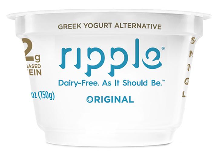 Ripple dairy free yogurt