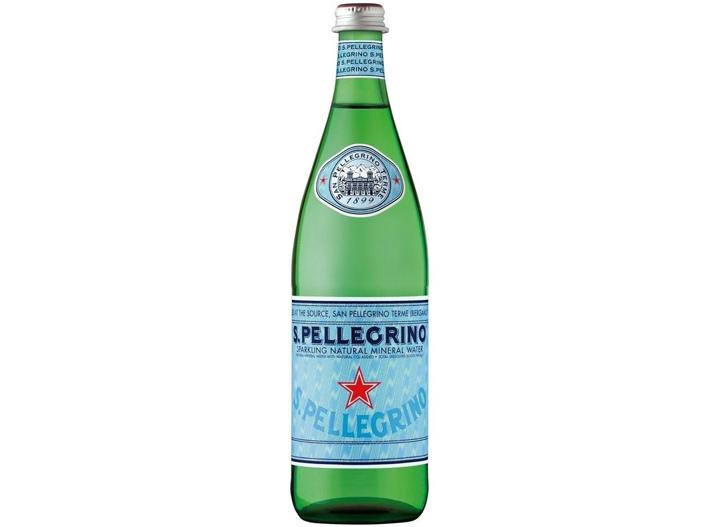 S Pellegrino water